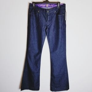 Rich and Skinny Bellissima dark wash flare jeans